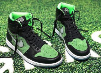 Air Jordan 1 Zoom Black Rage Green CK6637-002 Release Info