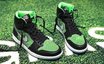 Air Jordan 1 Zoom Black Rage Green CK6637-002 Release Info