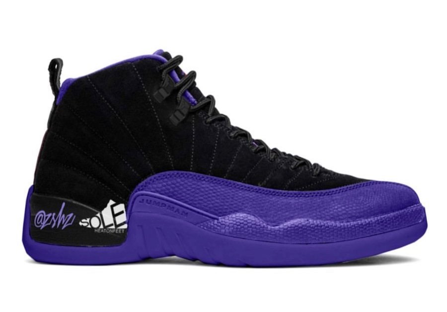 Air Jordan 12 Black Dark Concord CT8013-005 Release Date Info