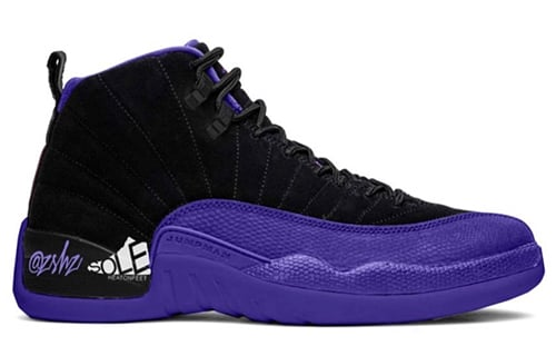 Air Jordan 12 Black Dark Concord Release Date