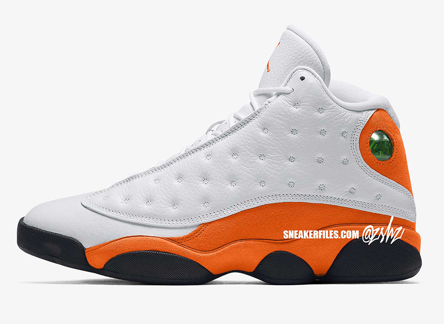Air Jordan 13 Starfish Orange Shattered Backboard 2021 Release Date