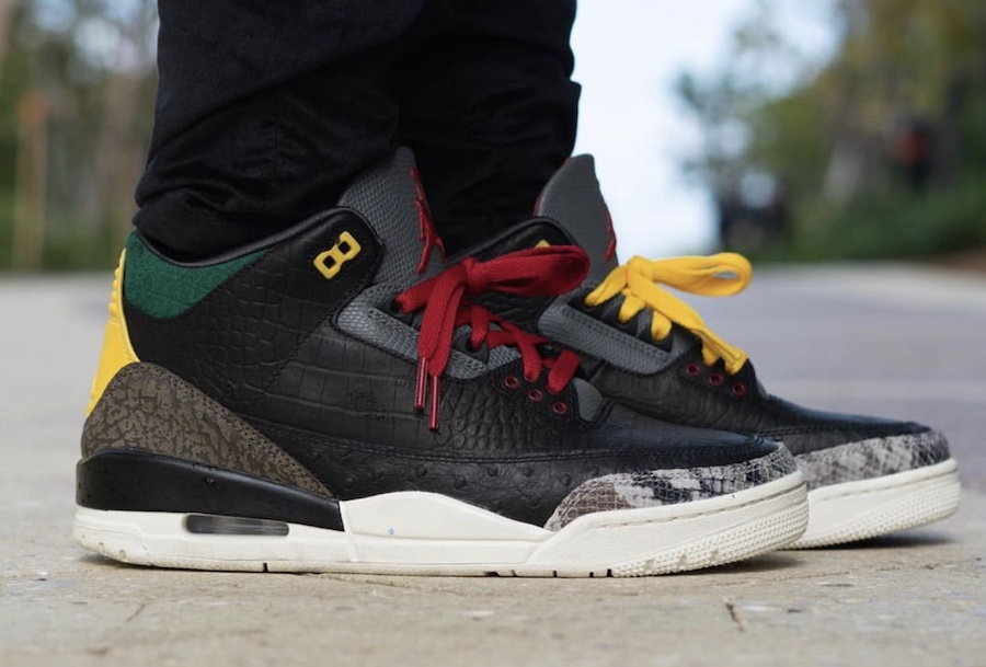 Air Jordan 3 Animal Instinct 2.0 On Feet