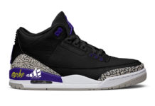 Air Jordan 3 Black Cement Grey White Court Purple CT8532-050 Release Date Info