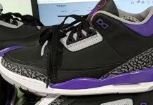Air Jordan 3 Court Purple Phoenix Suns CT8532-050