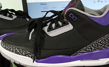 Air Jordan 3 Court Purple Phoenix Suns CT8532-050