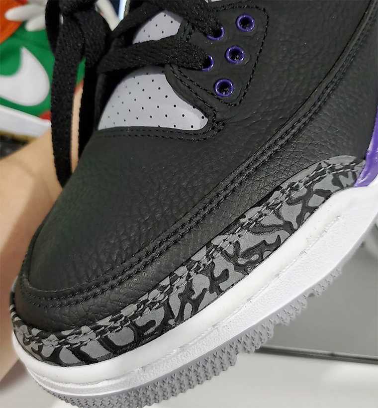 Air Jordan 3 Court Purple Phoenix Suns CT8532-050 Release Date