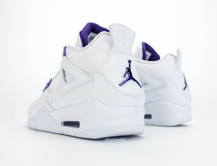 Air Jordan 4 Court Purple CT8527-115 2020 Release Info