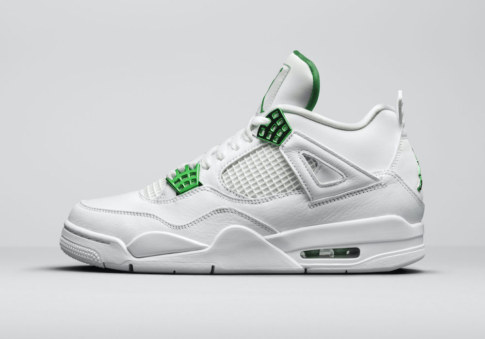 Air Jordan 4 Green Metallic Pack CT8527-113 Release Date