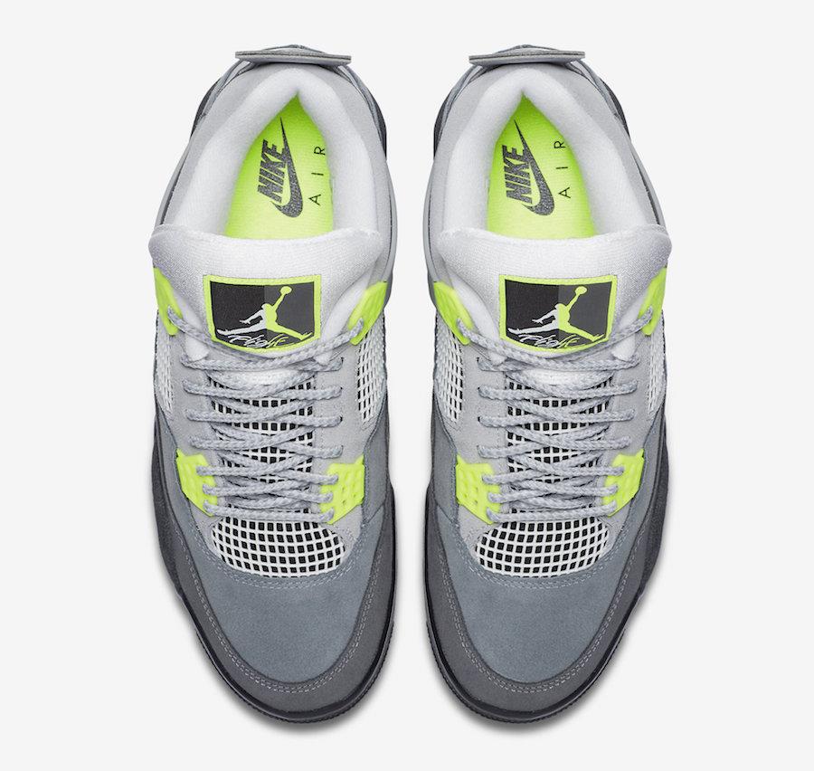 Air Jordan 4 Neon CT5342-007 Release Info Price