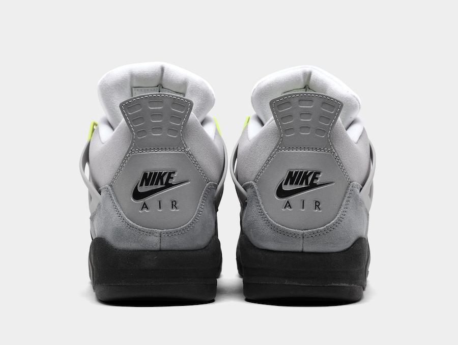 Air Jordan 4 Neon Air Max CT5342-007 Release