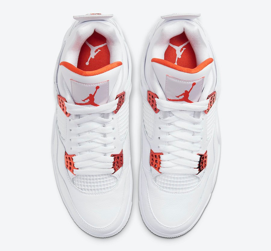 Air Jordan 4 Orange Metallic CT8527-118 Release Info