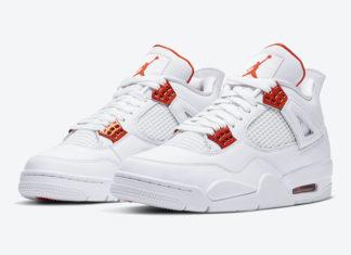 Air Jordan 4 Orange Metallic CT8527-118 Release Info