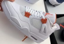 Air Jordan 4 Orange Metallic Release Date