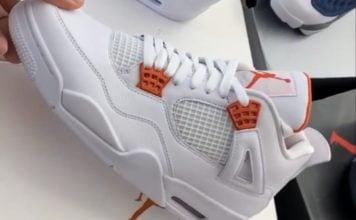 Air Jordan 4 Orange Metallic Release Date