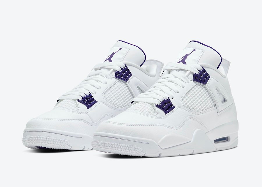 Air Jordan 4 Purple Metallic CT8527-115 Release Date