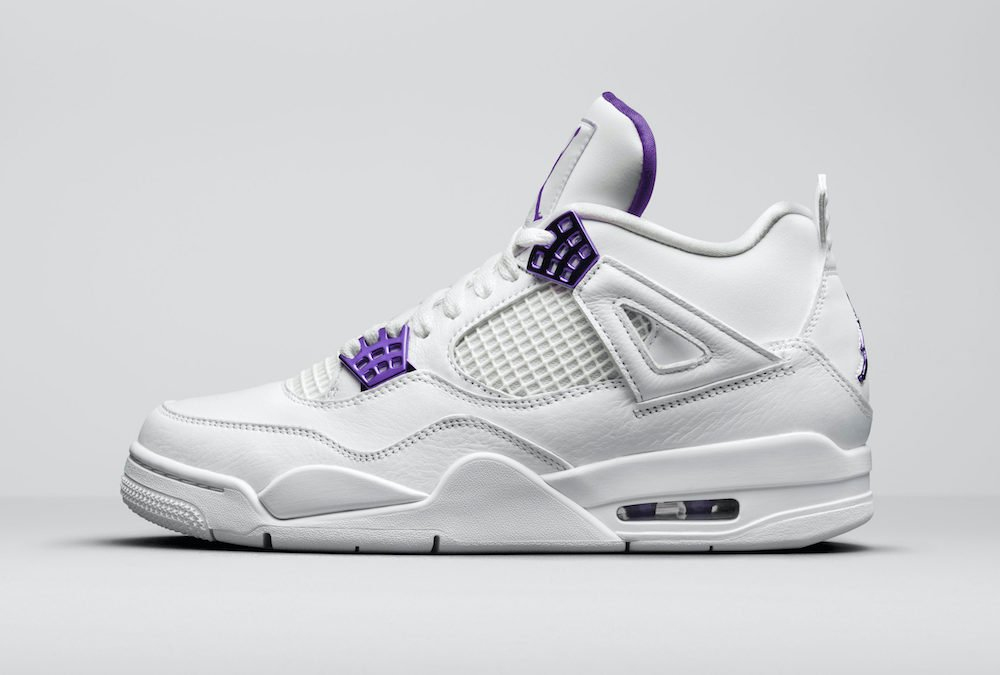 Air Jordan 4 Purple Metallic Pack CT8527-115 Release Date