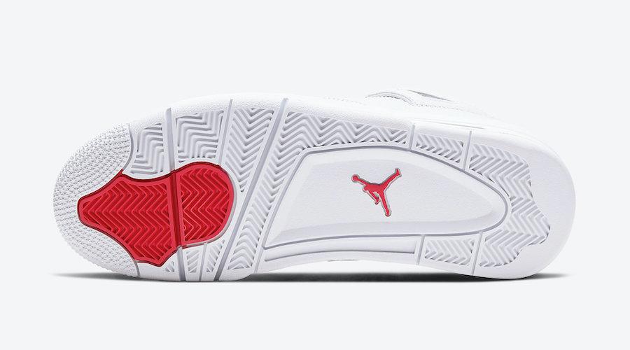 Air Jordan 4 Red Metallic Pack CT8527-112 Release Info