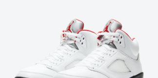 Air Jordan 5 Fire Red DA1911-102 2020 Release Details Price