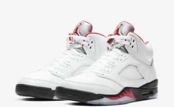 Air Jordan 5 Fire Red DA1911-102 2020 Release Details Price