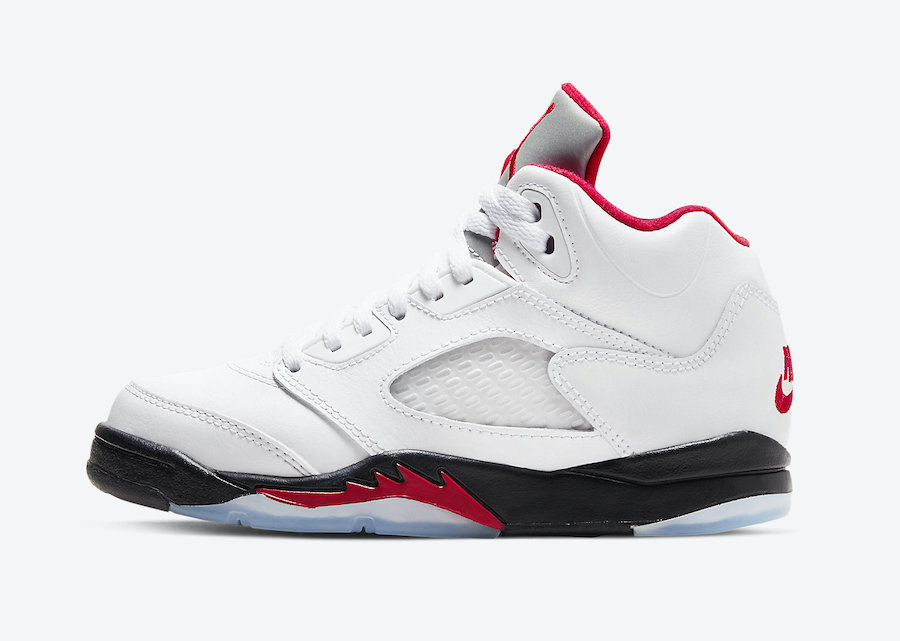 Air Jordan 5 Fire Red Preschool 440889-102