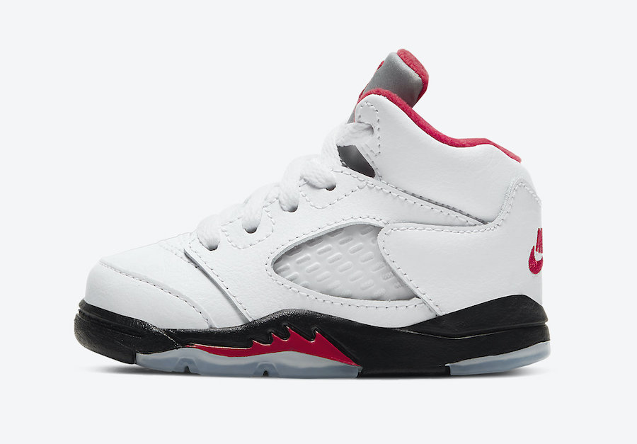 Air Jordan 5 Fire Red Toddler 440890-102