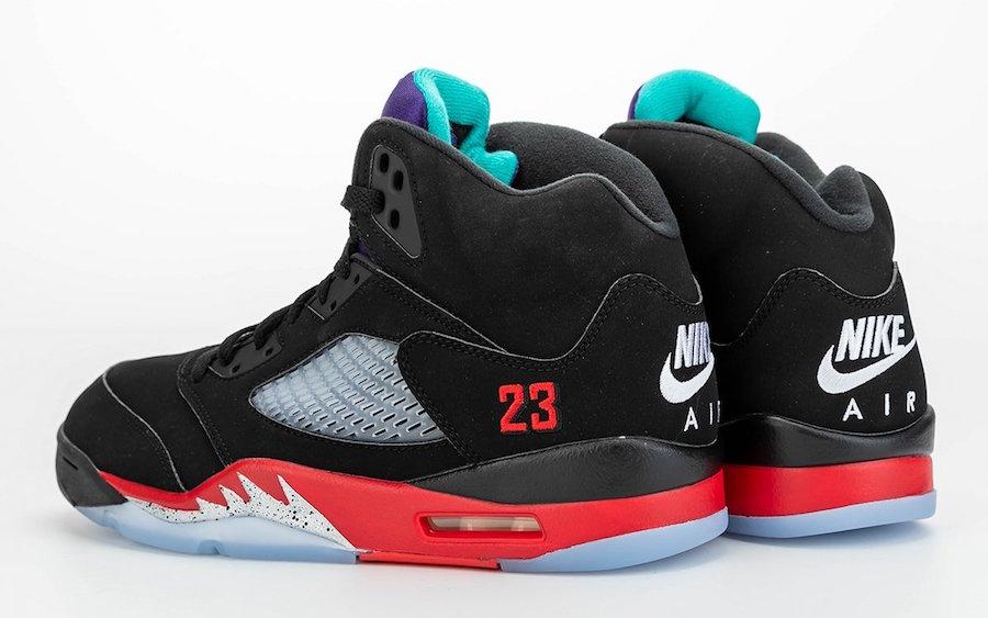 Air Jordan 5 Top 3 CZ1786-001 2020 Release Price