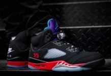 Air Jordan 5 Top 3 CZ1786-001 On Feet