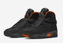 Air Jordan 8 WNTR Black Dark Grey Total Orange CT8532-050 Release Date Info