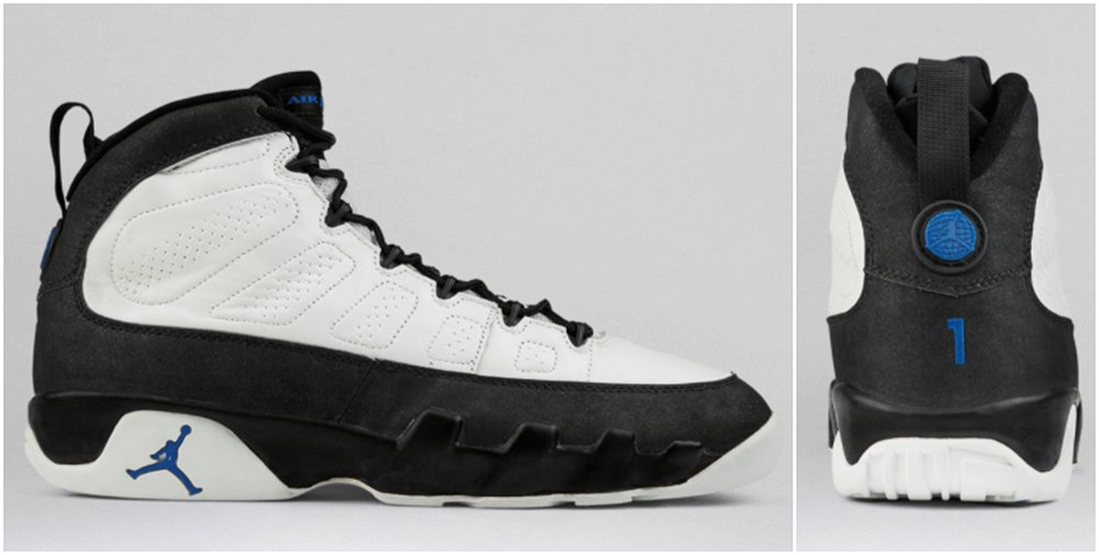 Air Jordan 9 Orlando Magic PE Original