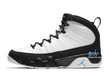 Air Jordan 9 White Black University Blue CT8019-140 Release Date Info