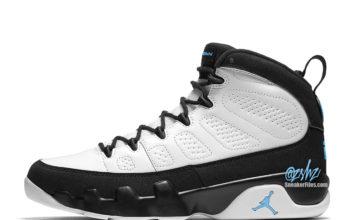 Air Jordan 9 White Black University Blue CT8019-140 Release Date Info