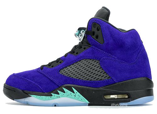 Alternate Grape Air Jordan 5 2020 Release Date