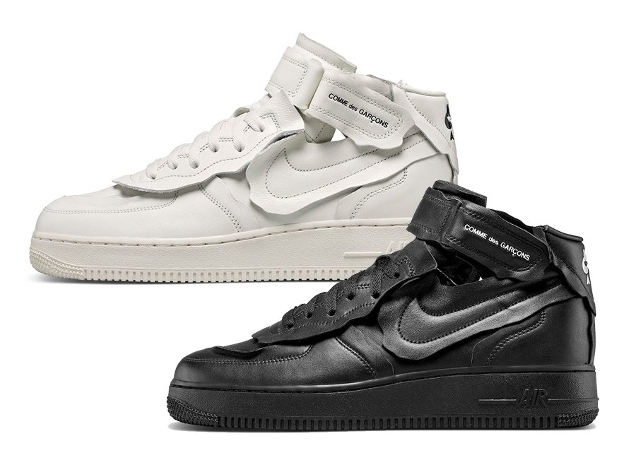 CDG Nike Air Force 1 Mid Release Date
