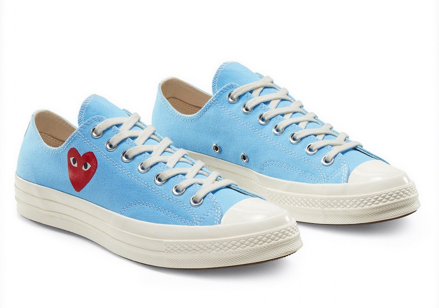 CDG PLAY Converse Chuck 70 Release Date Info