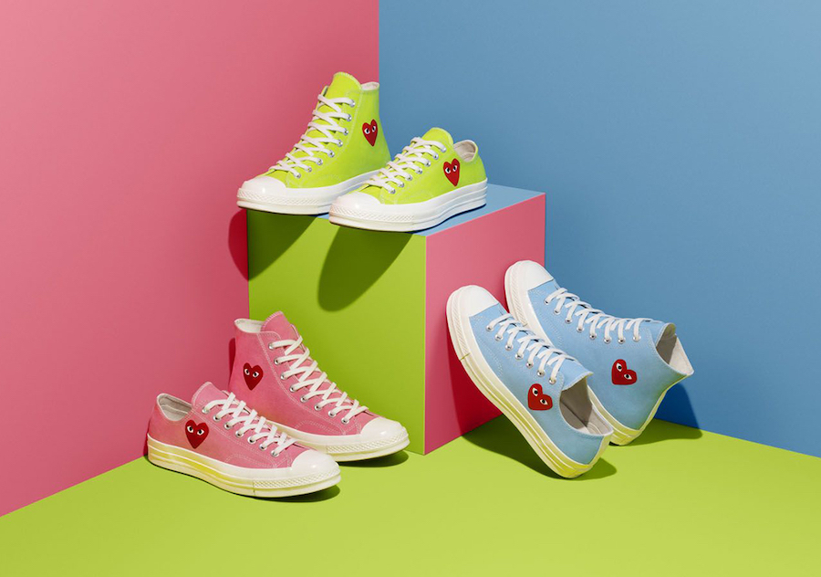 CDG PLAY x Converse Chuck 70 Release Date Info | SneakerFiles