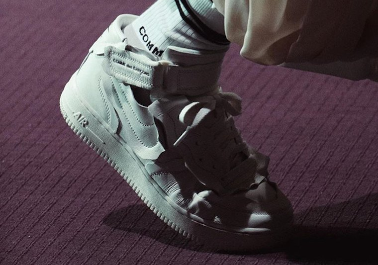 Comme des Garcons Nike Air Force 1 Mid Release Date Info