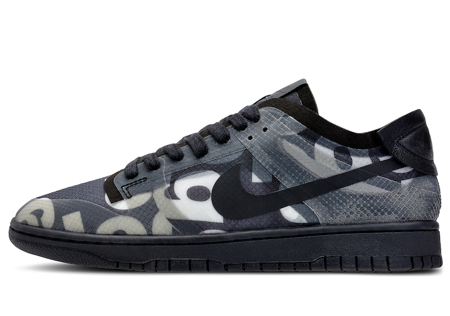 Comme des Garcons Nike Dunk Low Release Date Price