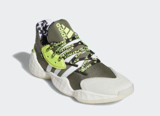 Daniel Patrick adidas Harden Vol. 4 FV8921 Release Date Info