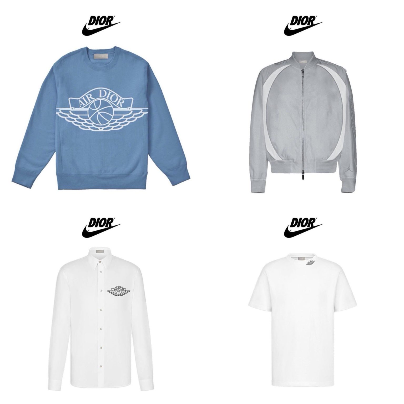Dior Air Jordan 1 Apparel Collection