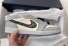 Dior Air Jordan 1 Low Unboxing