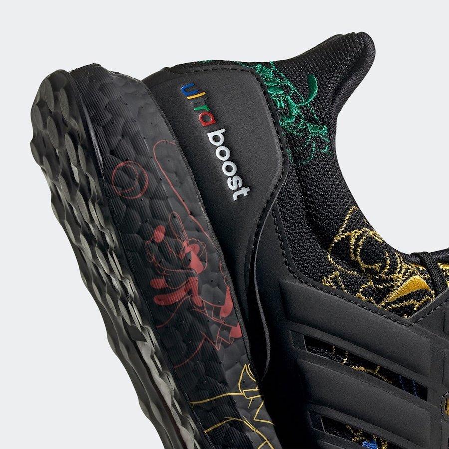Disney adidas Ultra Boost Goofy Black FV6050 Release Date Info