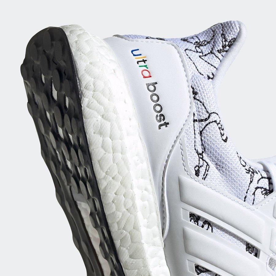Disney adidas Ultra Boost Goofy White FV6049 Release Date Info