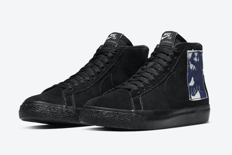 Isle Skateboards Nike SB Blazer Mid CW2186-001 Release Date Info