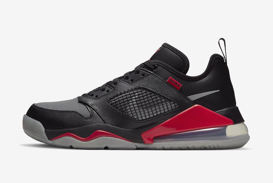 Jordan Mars 270 Low Black Reflect Silver Red CK1196-001 Release Date Info