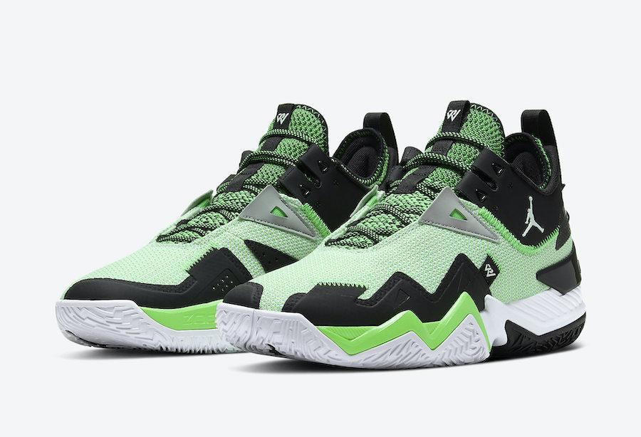 Jordan Westbrook One Take Rage Green CJ0780-103 Release Date Info