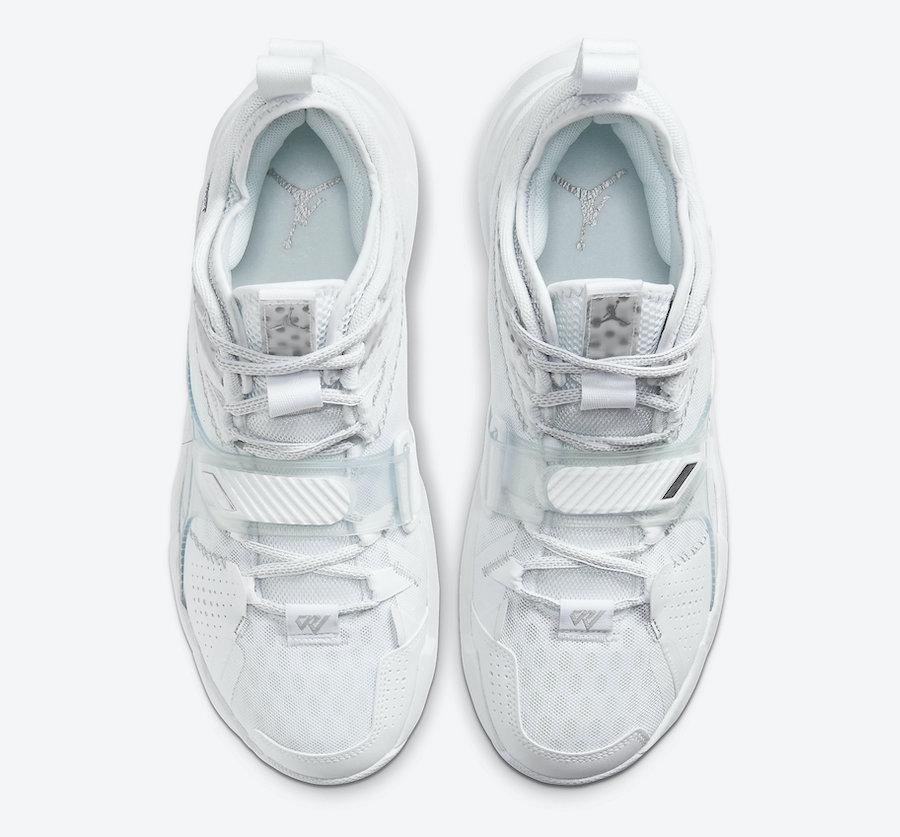 Jordan Why Not Zer0.3 White Metallic Silver CD3003-103 Release Date Info