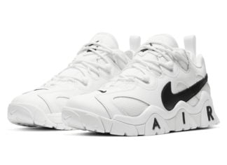 Nike Air Barrage Low White Black CW3130-100 Release Date Info