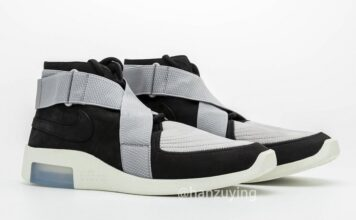Nike Air Fear of God Raid Friends Family Black Grey AT8087-003 Release Date