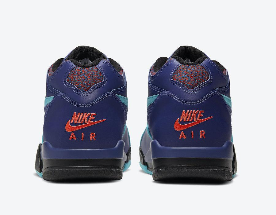Nike Air Flight 89 Purple Teal CJ5390-500 Release Date Info