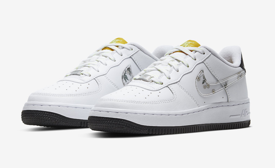 Nike Air Force 1 CW5859-100 Daisy Pack Release Date Info
